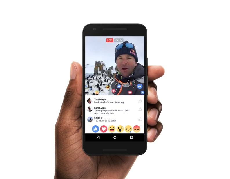 live video post