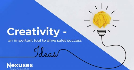 Creativity - An important Tool to drive sales success